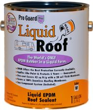 Liquid Roof Can--RV roof repair