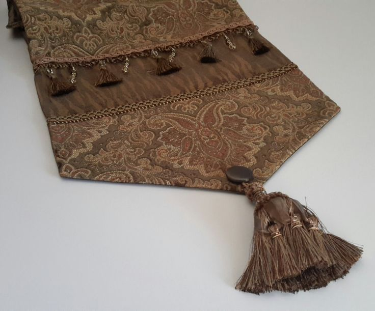 Elegant Table Runner, Luxury Table Runners, Custom Table Runners, Table Runners, Fall Table Runners, Gold Table Runners, Size 74 x 14 by CVDesigns on Etsy