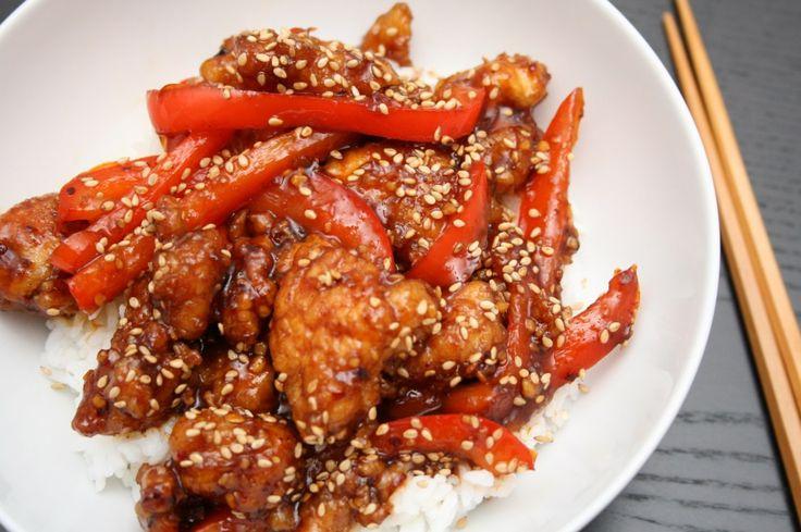 Peking Chicken   www.simplysavorynsweet.com