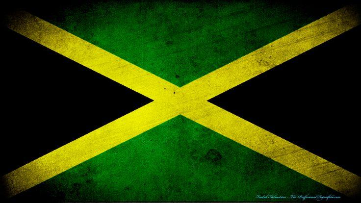 Fonds d'écran Art - Numérique Voyage - Drapeaux Drapeau Jamaïque