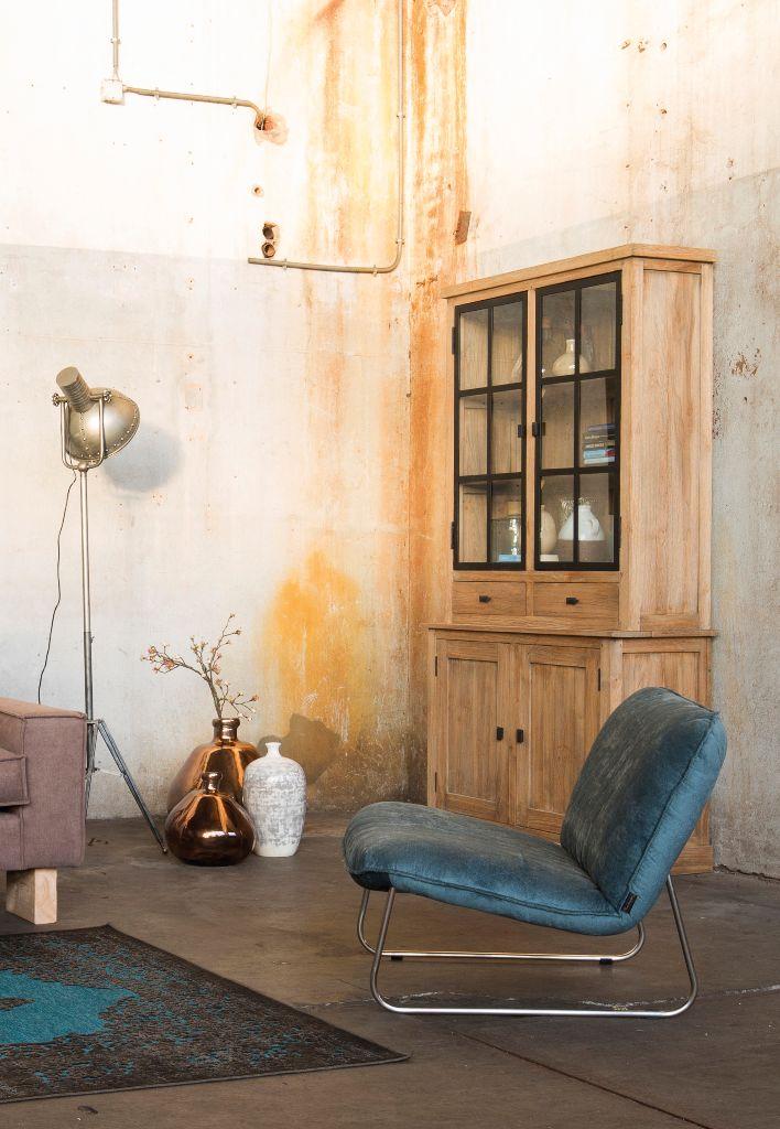 Trendhopper ● Meubels met een landelijke uitstraling in combinatie met modern en industrieel maken je interieur spannend.