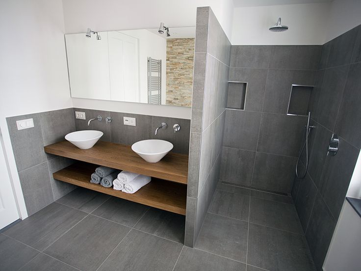 Inloopdouche en badkamermeubel. Simple BathroomSmall Bathroom IdeasGuest ...