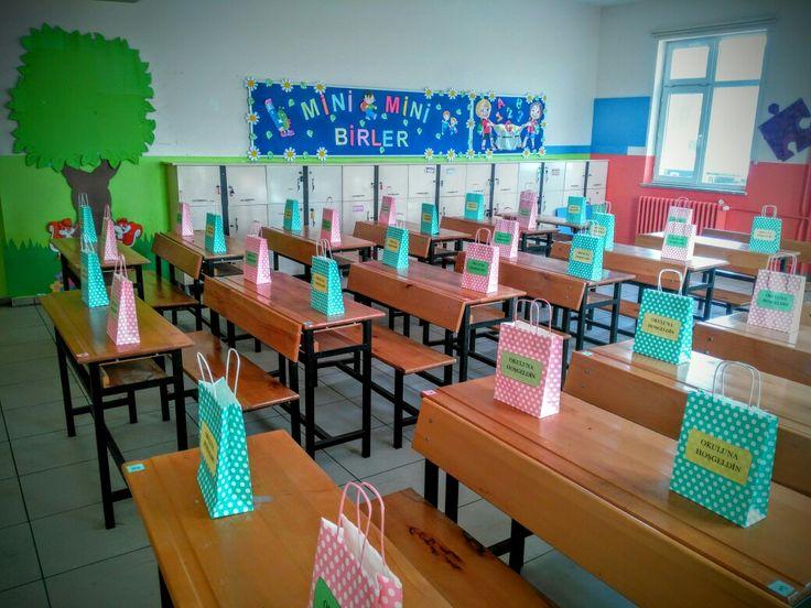 Okulda ilk gün