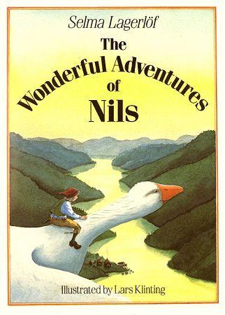 The Wonderful Adventures of Nils Holgersson by Swedish author Selma Lagerlöf, Illustrated by Lars Klinting