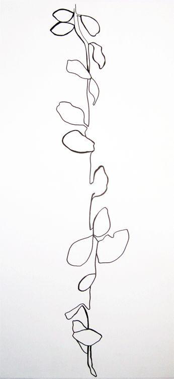 Contour Line Drawing Of A Plant : Best love illustration images on pinterest