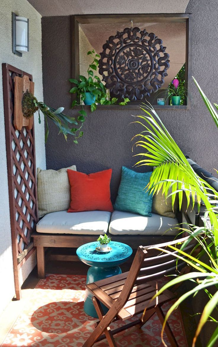 Best 25 small balcony furniture ideas on pinterest - Small balcony furniture ideas ...