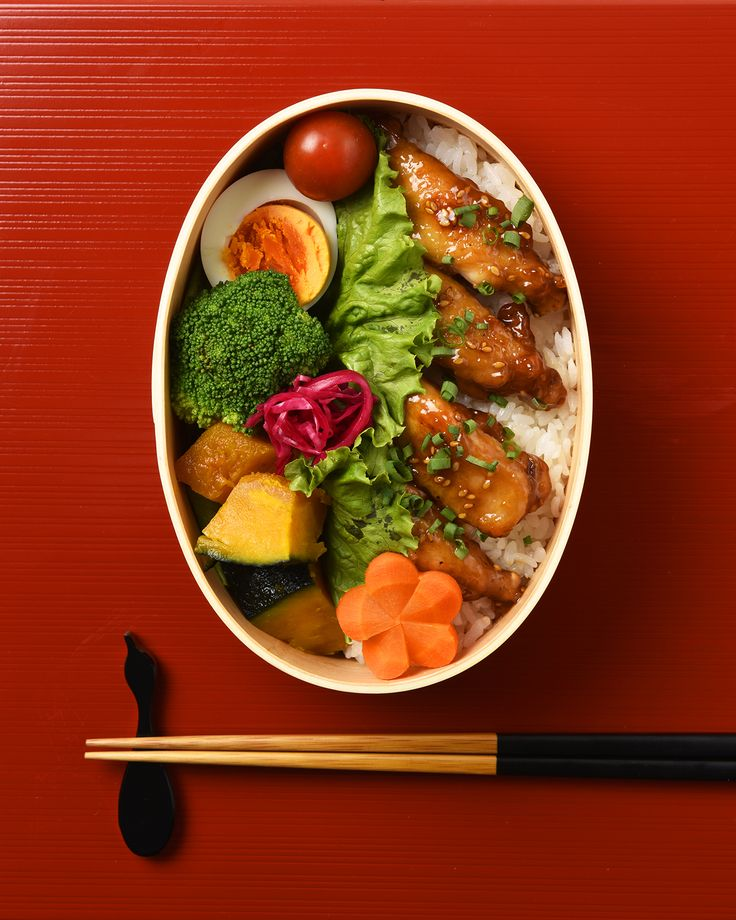 手羽元の甘辛弁当 / Sweet Soy Sauce Chicken Drumettes Bento お弁当を作ったら #edit_jp で投稿してね!