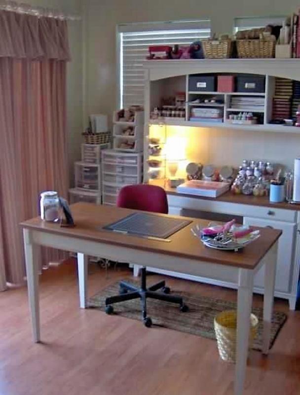 Best Craft Desk Table Setup Ever Home Decorating