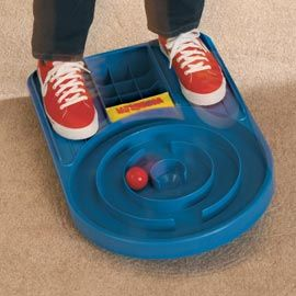 The Wobbler Challenge friends and family to fun that boosts balance and coordination. I want this