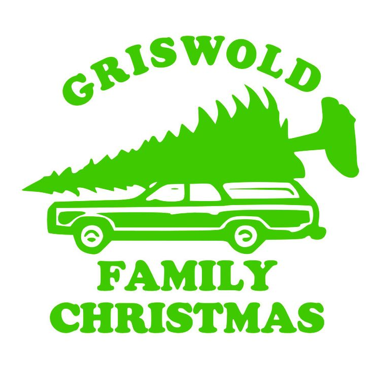 A Christmas Vacation it's a GRISWOLD Family Christmas Iron On