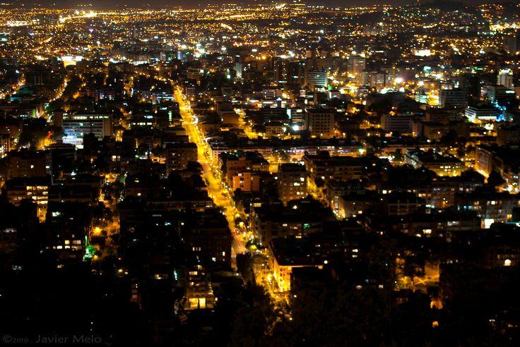 Bogota´s Night view