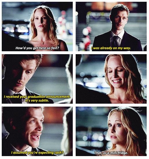 Caroline and Klaus - The Vampire Diaries - TVD