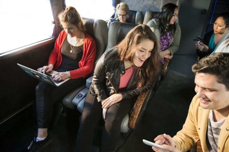 All InterCity buses are equipped with free WiFi, so you can stay connected while you travel.