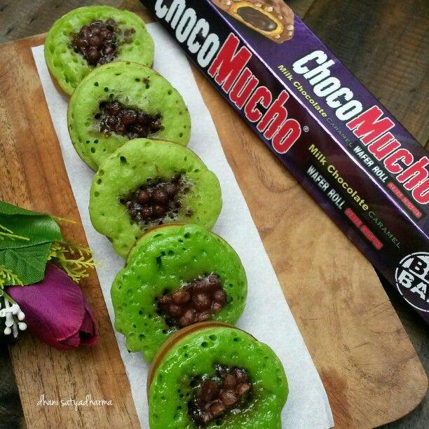 Kue Cubit with choco mucho