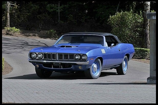 1971 Plymouth Hemi Cuda Convertible Original 426/425 HP and 4-Speed for sale by Mecum Auction