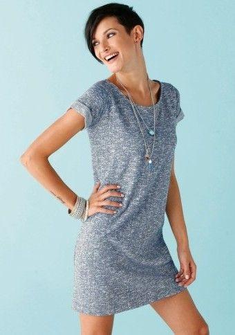 Jemné meltonové šaty #Modinosk #comfy #dress #šaty