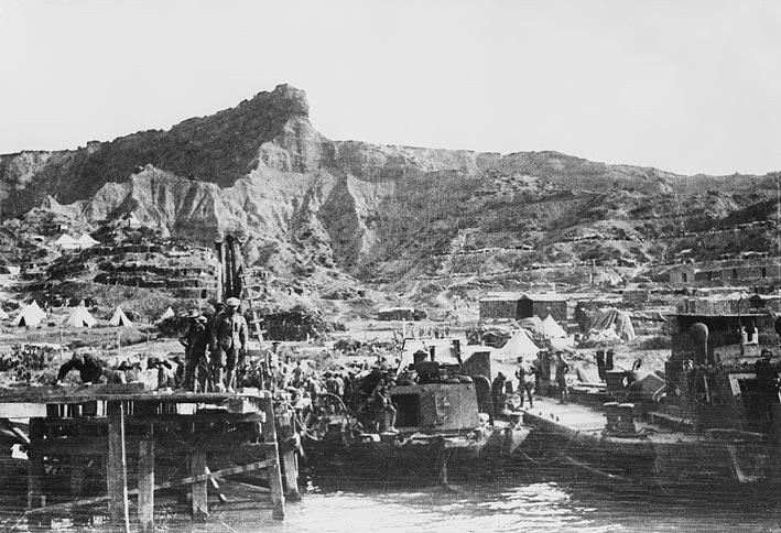 Gallipoli image dated mid-October 1915