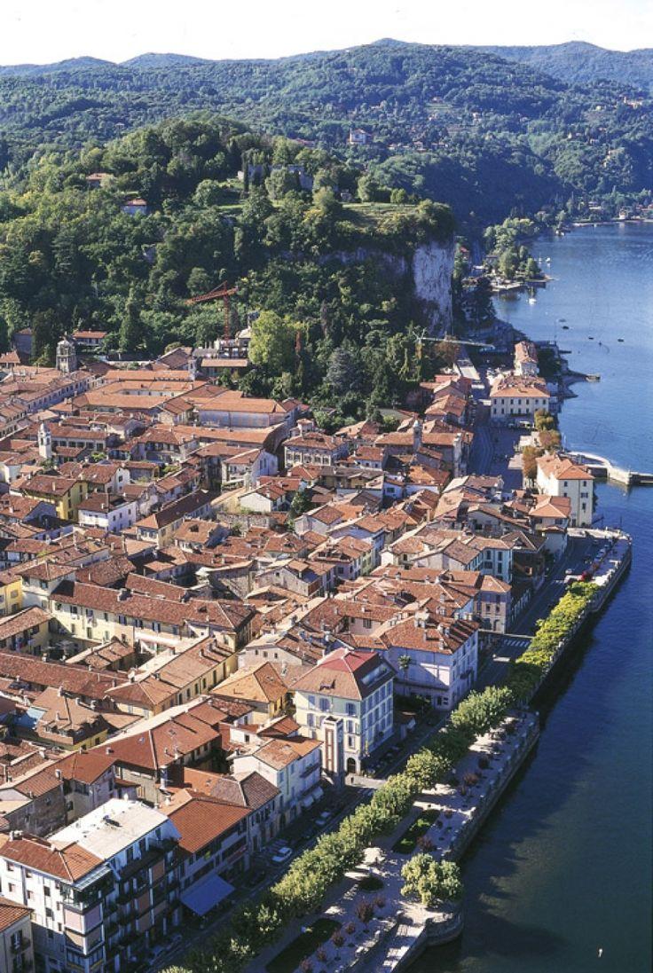 Arona, Lake Maggiore, Italy.