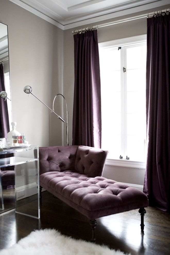 Ive Always Wanted A Chaise Lounge In My Room Amoroso Design Contemporary Living