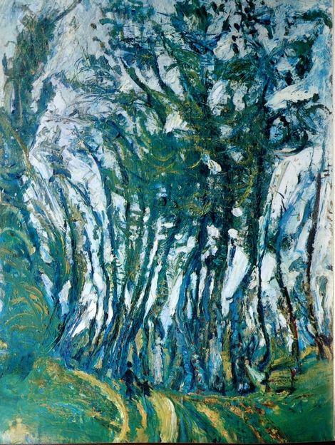 Chaim Soutine, l'automne à Champigny  1942 on ArtStack #chaim-soutine #art