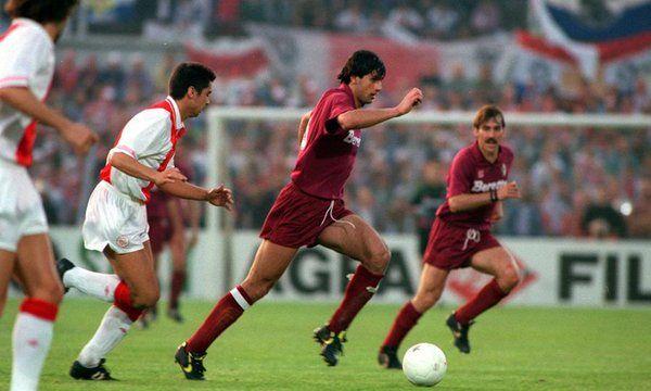 Gigi Lentini . Finale Coppa UEFA 1992 contro l'Ayax