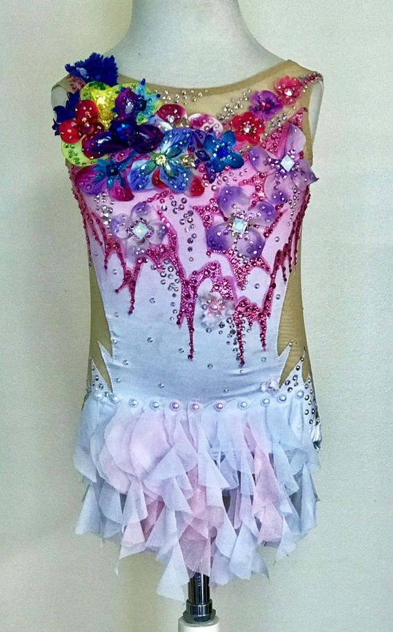 Competition Dance Costume SOLD by Savalia on Etsy