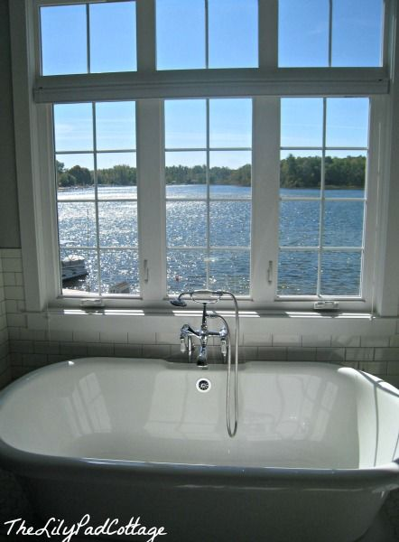 448 best images about lake cottage on pinterest for Lake cottage bathroom ideas