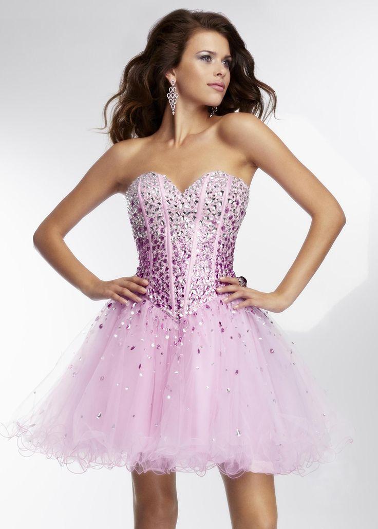Purple Rhinestone Formal Prom Dresses – fashion dresses