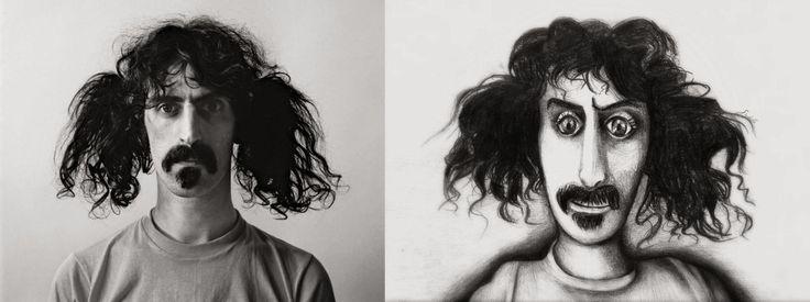 Photo on left: Jerry Schatzberg, New York City, 1967 Artwork by on right: Szibilla Margó, 2012, Szeged