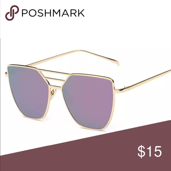 New✨ Vintage Aviator Purple Sunglasses  ✨ Gold Metal Frame, Purple Lens  ✨ 100% UV400  Brand New✨ PRICE IS FIRM- already listed at lowest price  If you want to save please look into bundling  In Stock No Trades Will ship within 24- 48 hours Monday-Friday  Please -NO- Offers on items priced $10 and under AND ON SALE ITEMS‼️  Serious Inquiries Only❣️  Bundle one or more items from my boutique to only pay one shipping fee✨ Accessories Sunglasses