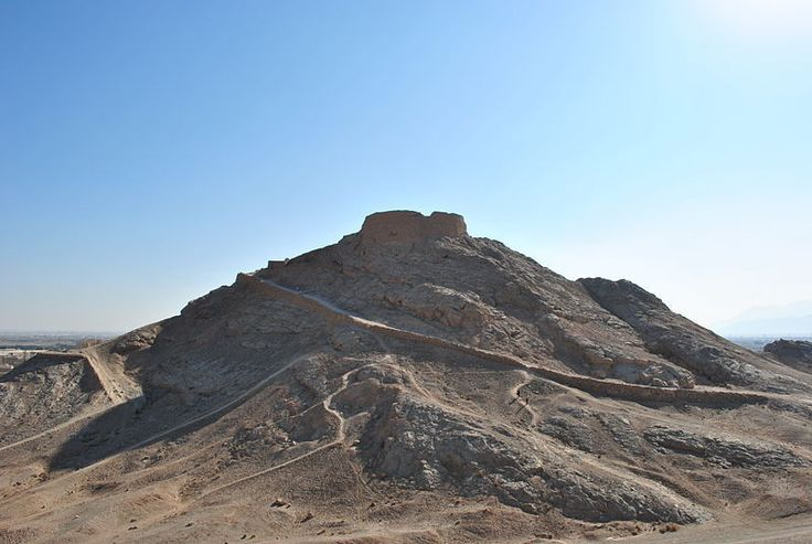 Zoroastrian Towers of Silence | Atlas Obscura