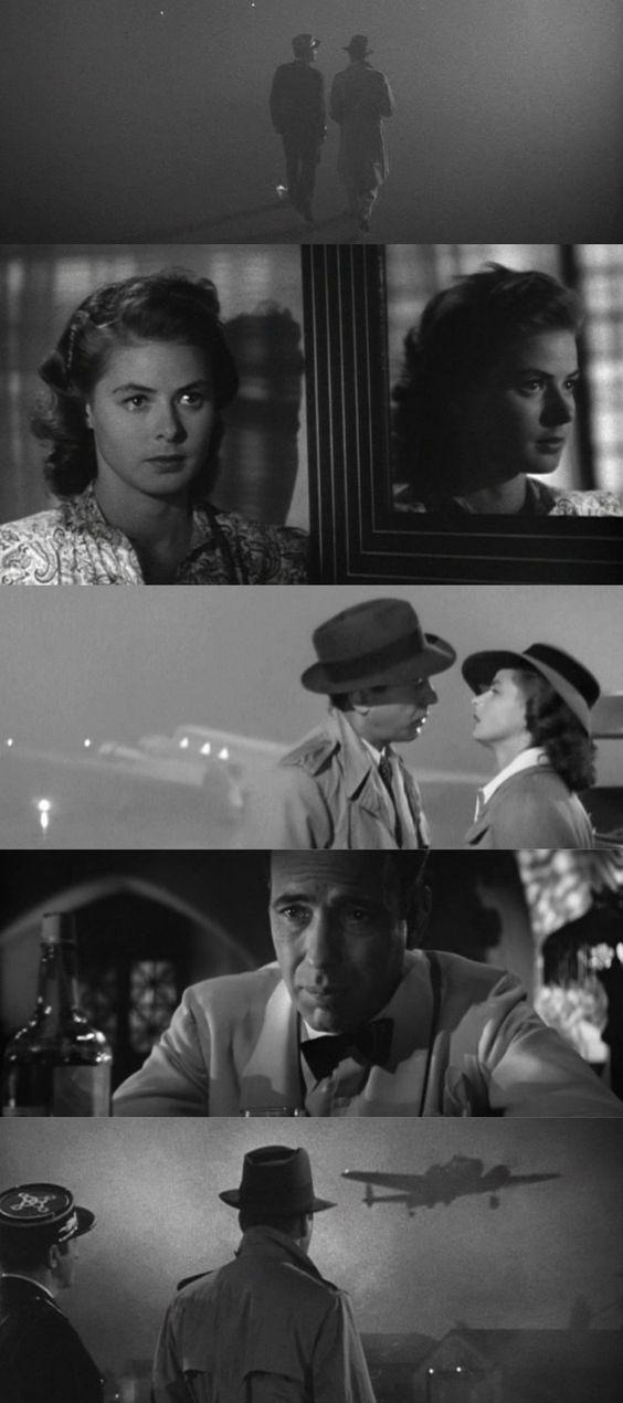 Cenas do filme Casablanca. 10 filmes sobre a inexorabilidade do tempo. O cinema disposto em todas as suas formas. Análises desde os clássicos até as novidades que permeiam a sétima arte. Críticas de filmes e matérias especiais todos os dias. #filme #filmes #clássico #cinema #ator #atriz