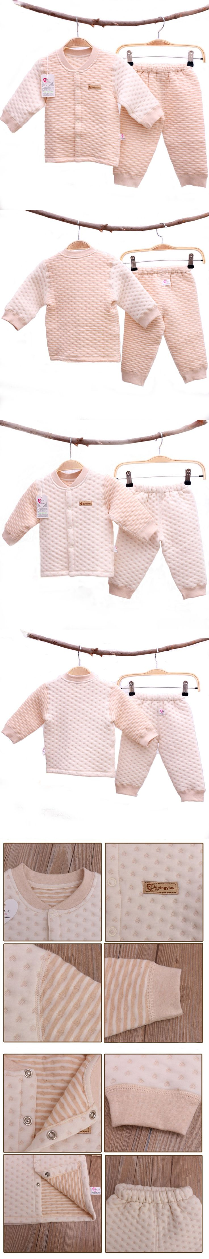 Warm Winter Newborn Baby Girl Clothes Set,Infant Boy Clothing Set For 0-2 Years Old,Safe Organic Cotton Baby Products YJM206