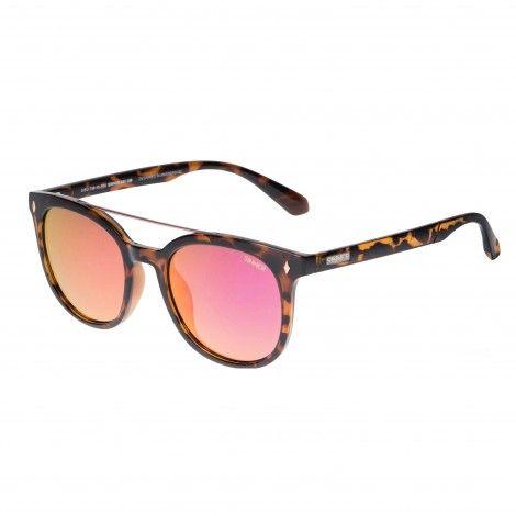 1e7955549592a3 SINNER Diamond Peak zonnebril dames shiny cry tortoise ...