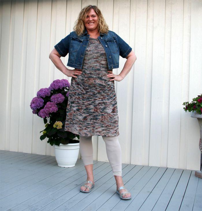 Gratis strikkeoppskrift på lissekjole