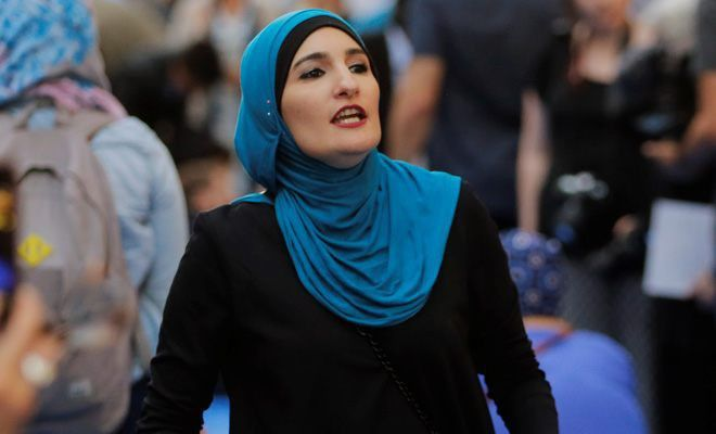 Linda Sarsour blames 'Jewish media' for her controversial reputation. Evil Sarsour needs to shut the hell up! She is the definition of anti- semitism.
