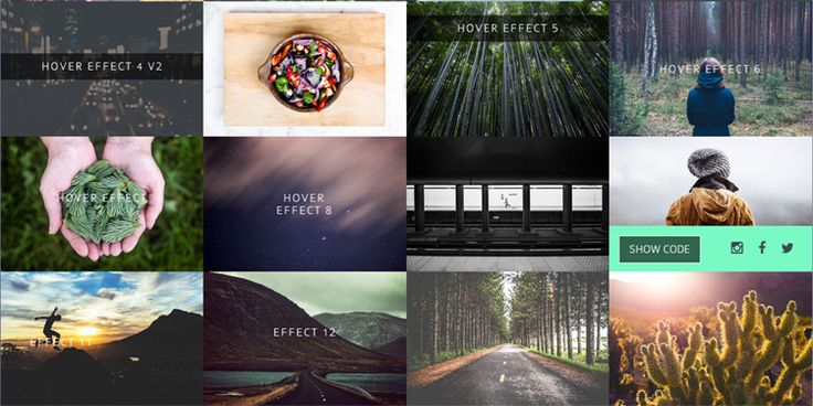 14 Image Hover Effects