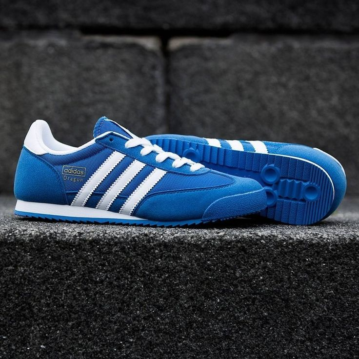 adidas Originals Dragon: Blue/White