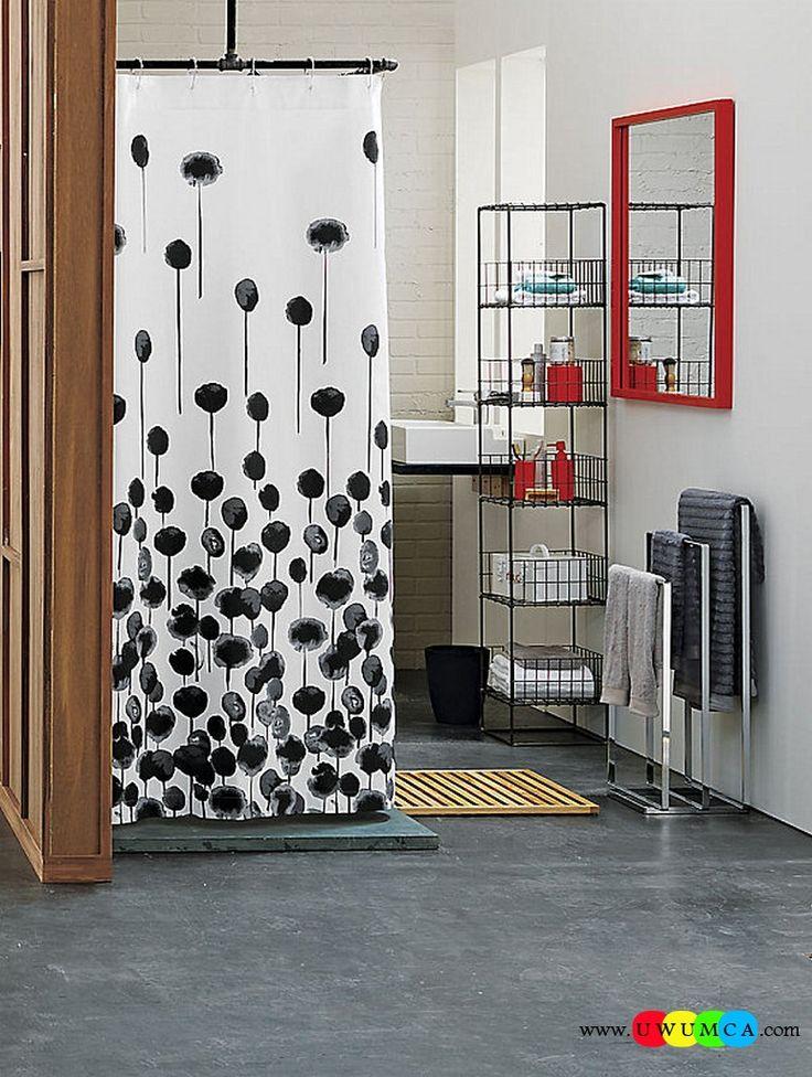 Bathroom:Decorating Modern Summer Bathroom Decor Style Tropical Bath Tubs Ideas Contemporary Bathrooms Interior Minimalist Design Decoration Plans Grid Tower Shelving Cool and Cozy Summer Bathroom Style : Modern Seasonal Decor Ideas