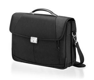 With this stylish laptop briefcase, you can be sure to make the right impression at your next business meeting. Price: £95.00. Buy it today at http://www.luggage-uk.co.uk/samsonite-intellio-3-gusset-laptop-briefcase-16-black/p1140