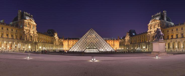 The Louvre, Paris (France).
