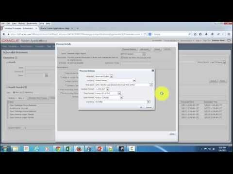 On YouTube: How to run reports in Oracle Fusion Applications?