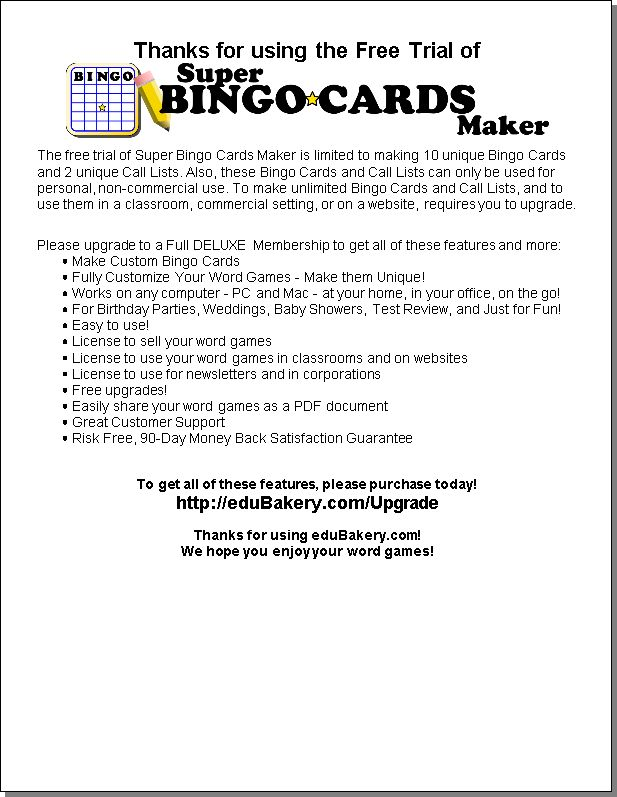 Best  Bingo Card Maker Ideas On   Bingo Card Creator