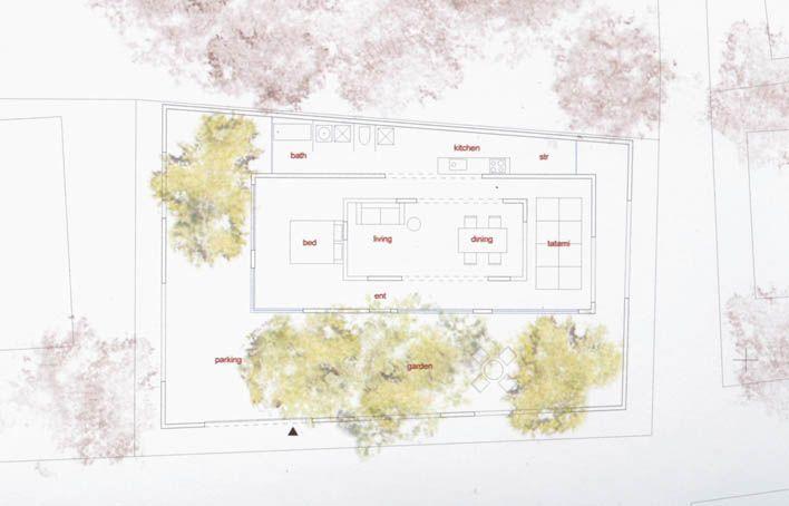 House N Fujimoto Plan House Design Plans
