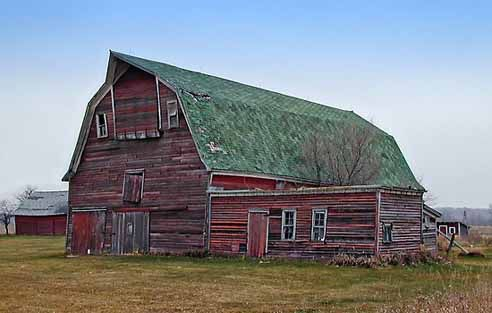 Barns.  I love the old weathered barns , actually the more weathered the better. They look like they could tell some amazing story's !!