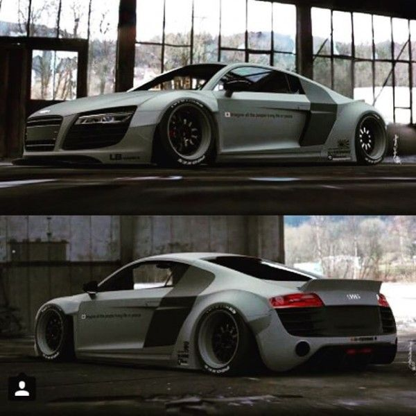 LIBERTY WALK LB☆WORKS AUDI R8 R Libertywalk Lbperfomance