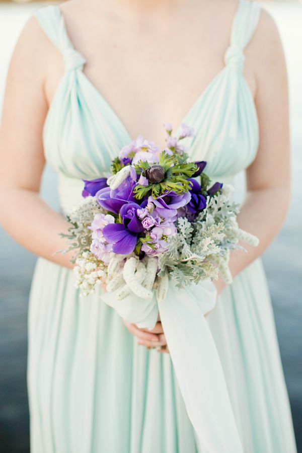purple bouquet: Mint Wedding, Color, Dream, Wedding Ideas, Mint Bridesmaid Dresses, Lavender Wedding, Purple Bouquets, Flower