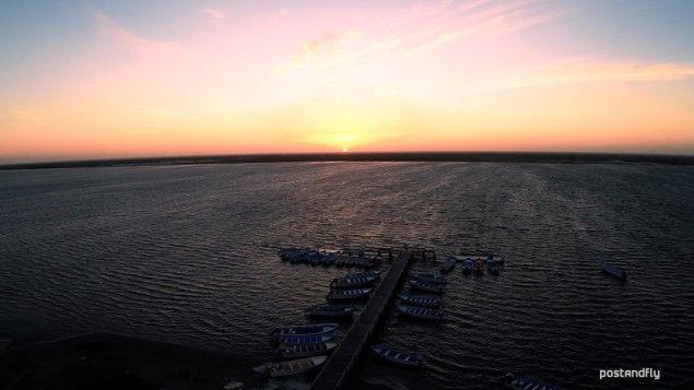 8. Puesta de sol, en López Mateos. Uno de los mejores puntos para la observación de la ballena gris. #CiudadDeMéxico