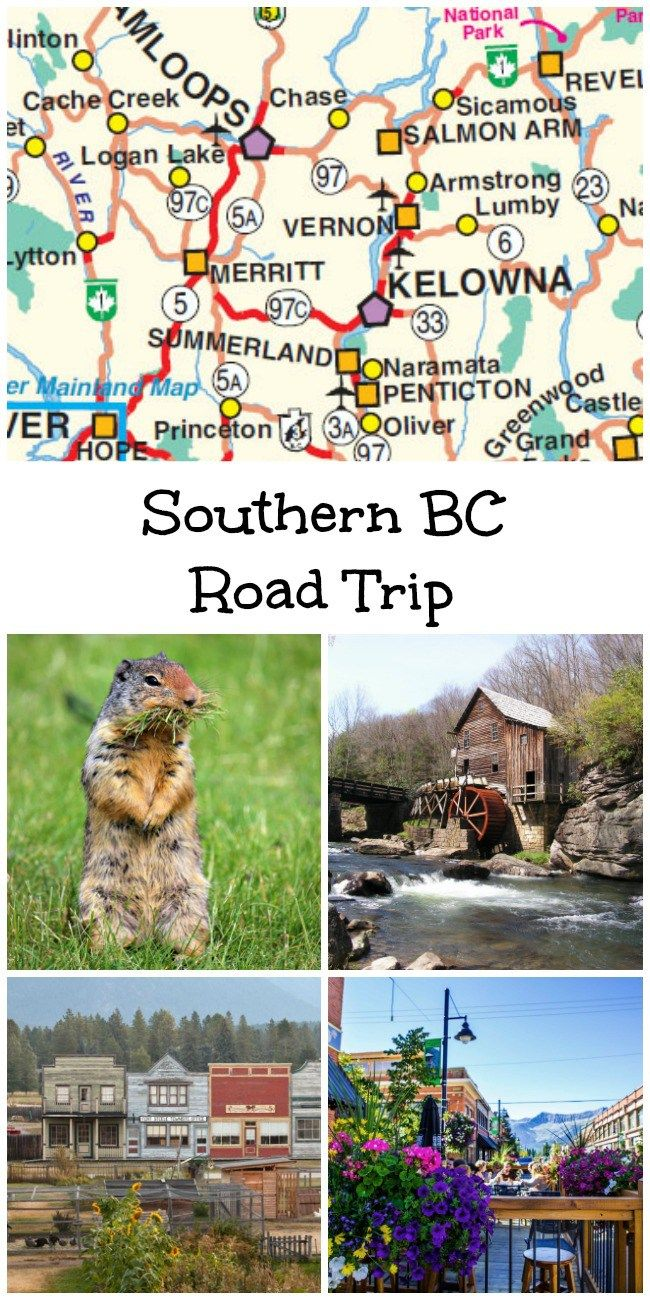 A Southern BC road trip! More than 25 things to see and do with the family from Vancouver to Sparwood and every town along the way.