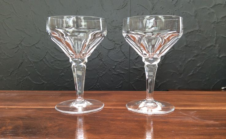 Champagne saucers, love these! I had three until recently! Paid a couple of bucks each for them :)